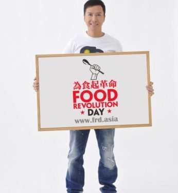 Donnie Yen Joins JO's Food Revolution Campaign