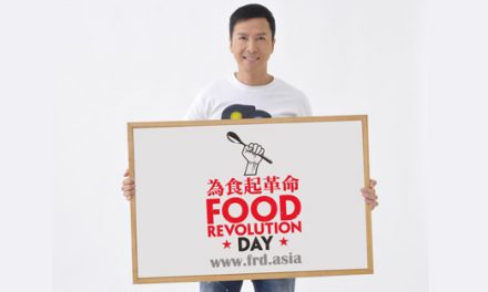 Donnie Yen Joins Jamie Oliver for Food Revolution in Asia
