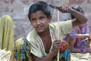 More than 100 million kids worldwide work in hazardous jobs