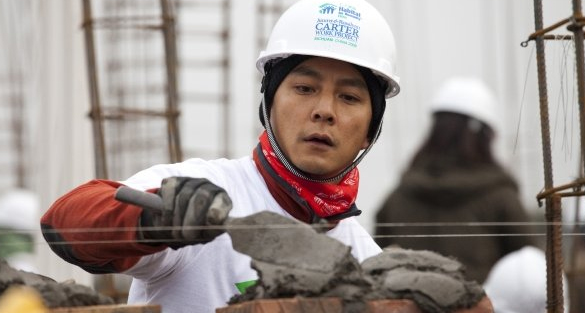 Daniel Wu and Karen Mok rebuild home for the 512 Sichuan earthquakes victim
