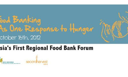 Asia's First Regional Food Bank Meeting: Oct 15th & 16th in Hong Kong