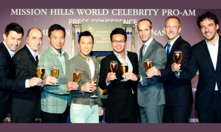 Hollywood superstars journey to Mission Hills Haikou for Mission Hills World Celebrity Pro-Am
