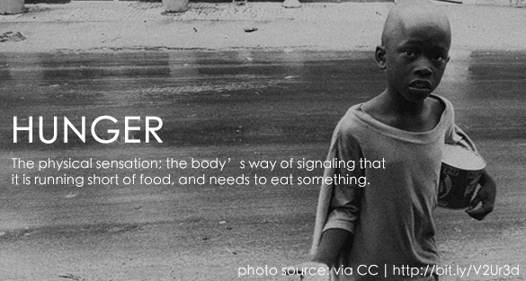 Definitions of Hunger