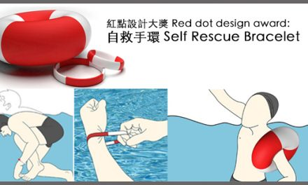 Winner red dot award:Self Rescue Bracelet
