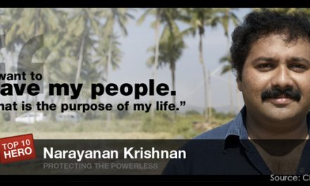 Narayanan Krishnan: To Give, the ultimate purpose of life.