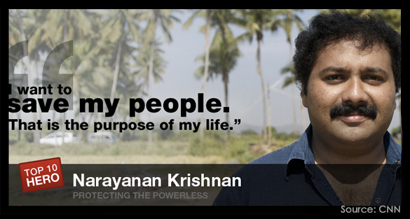 Narayanan Krishnan: To Give, the ultimate purpose of life. | Go.Asia