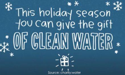 charity:water 2012假日活動﹣籌建百個水井