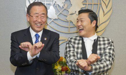 When Gangnam Style meets UN