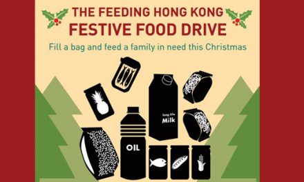 樂餉社舉辦收集食物活動與低收入家庭分享食物