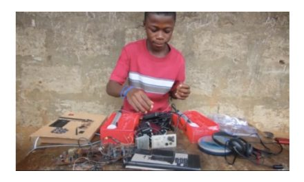 13-year-old genius from Sierra Leone builds generators out of scrap, makes you feel dumb