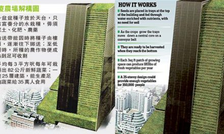 The plant skyscrapers: Giant greenhouses in city centres to herald a new age of farming