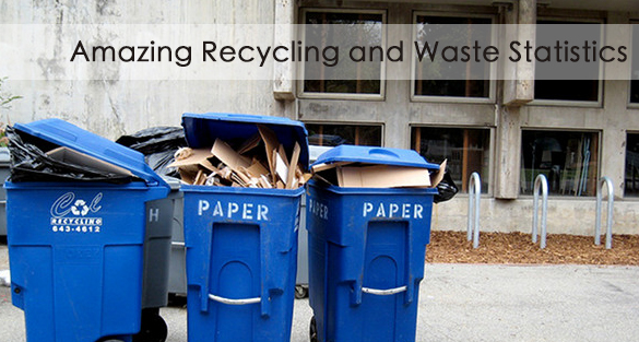 Amazing Recycling and Waste Statistics (part 1)