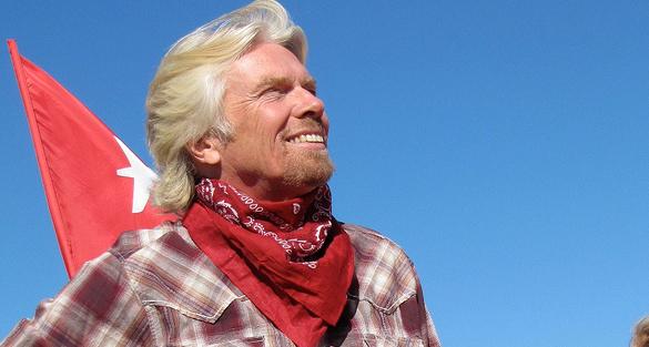 'Stuff does not bring happiness': Sir Richard Branson