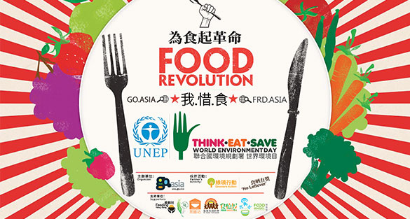 Think.Eat.Save – Be a No Leftover's Citizen supports the global Food Revolution movement