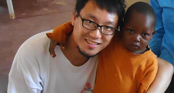 The youngest field workers with MSF in Hong Kong