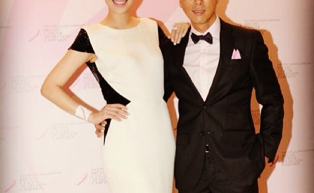 Donnie & Cissy support the Breast Cancer Awareness Campaign