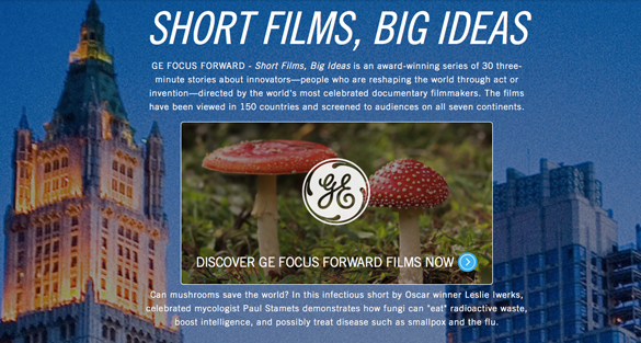 GE: Short Films, Big Ideas