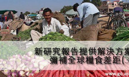 新研究報告提供解決方案 彌補全球糧食差距(3)