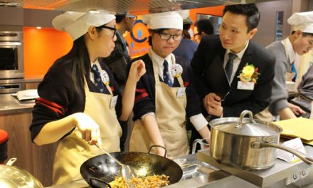 Students from Liu Po Shan Memorial College won Think.Cook.Save. student master chef cooking competition
