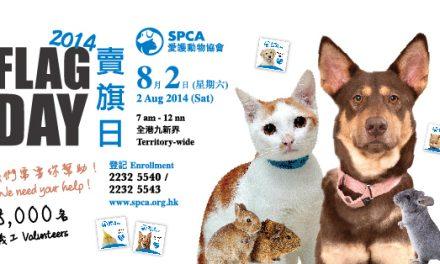 HK- SPCA (HK) Flag Day 2014 | Volunteers Needed
