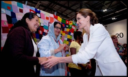 Angelina Jolie co-chairing the Global Summit to End Sexual Violence in Conflict