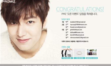 Promiz, Lee Min Ho Charity Platform
