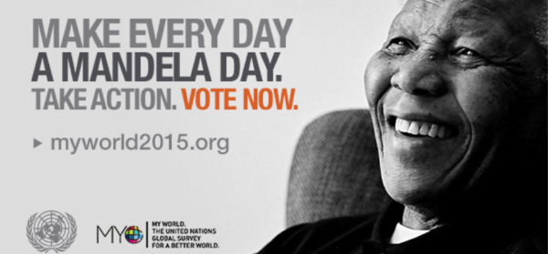 Mandela Day on 18th July 2014
