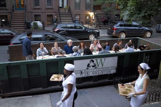 社會創新設計:垃圾車晚宴