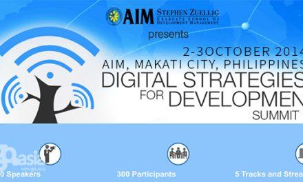 Philippines – Digital Strategies for Development Summit 2014 | Oct 2-3