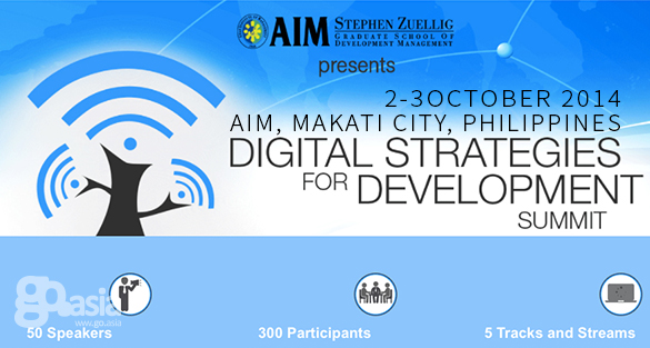 Philippines – Digital Strategies for Development Summit 2014 | Oct 2-3
