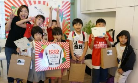 Eat Smart Little Chef, co-organized with Jamie's Italian Hong Kong