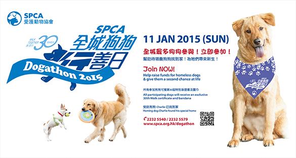香港-愛護動物協會 「全城狗狗行善日」2015|1月11日
