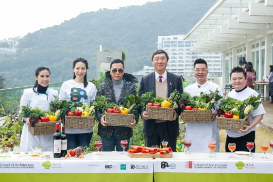 Go.Asia x CUHK Rooftop Cultivation Harvest Feast