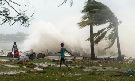 Tropical Cyclone Devastation in Vanuatu