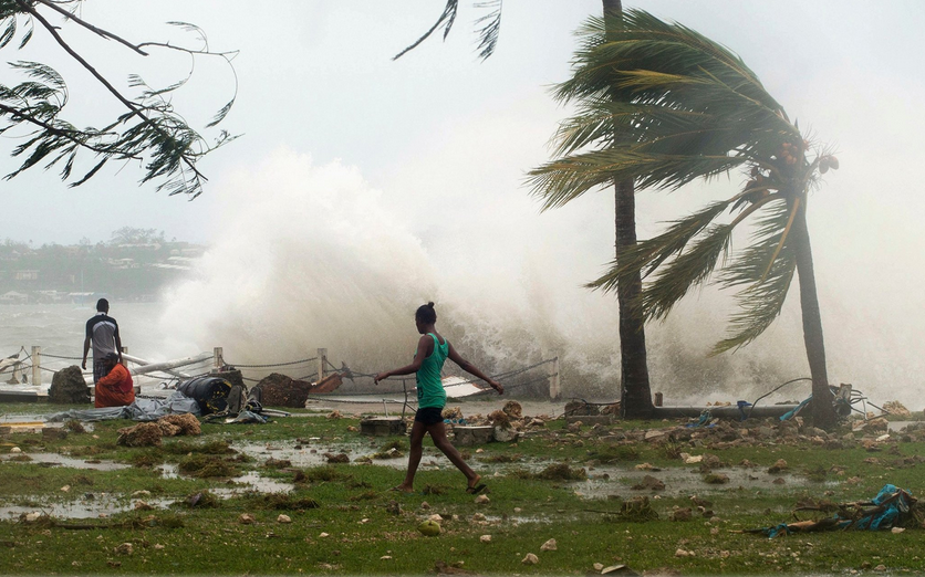 Tropical Cyclone Devastation in Vanuatu