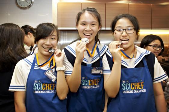 首屆「科學廚神挑戰賽」圓滿結束 德望學校奪得總冠軍