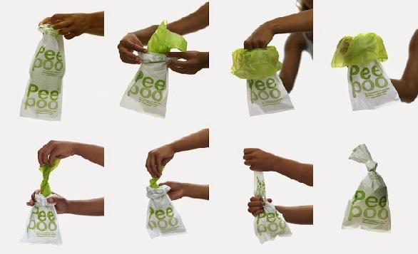 Peepoople – A mobile toilet bag improves sanitation