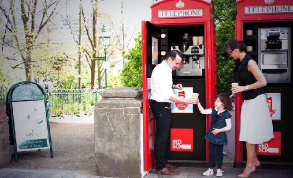Red Kiosk Company revamped 100 unused iconic British red phone boxes