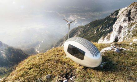 斯洛伐克:你可以帶著這個小小的風和太陽能發電的家到處闖!