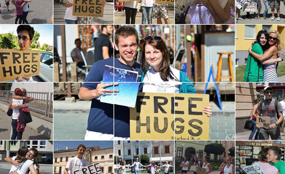 Free Hugs Campaign: Spread the Love To Strangers