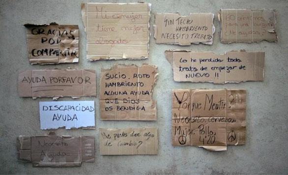 西班牙:HomelessFonts助流浪漢筆跡打造成商業字體