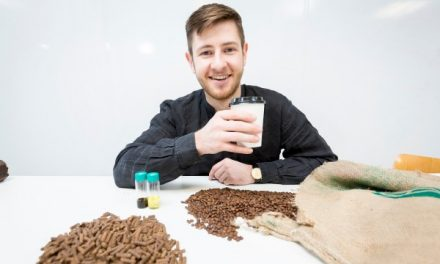 "Arthur Kay Turns Coffee Waste into ""Gold"""