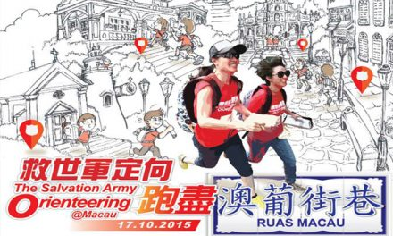 Macau  – The Salvation Army Orienteering 2015- Oct 17