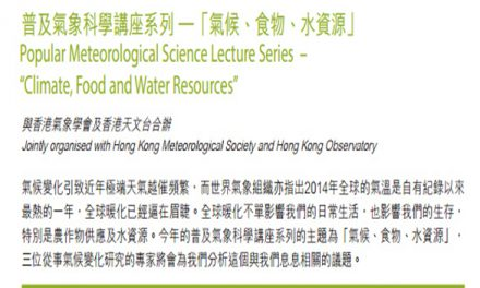 HK- Warming Alarm: Climate, Food, and Water ResourcesI Nov 7