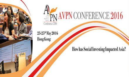 HK – AVPN Conference 2016 I May 23-25