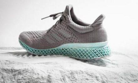 全球首雙用海洋塑膠廢物做的跑鞋