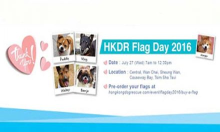 HK- Hong Kong Dog Rescue Flag Day 2016I Jul 27