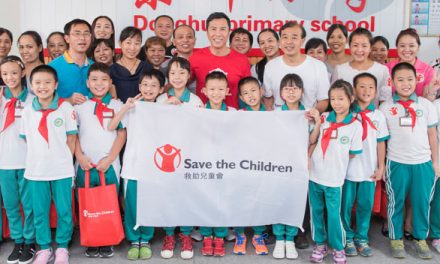 SAVE THE CHILDREN HONG KONG APPOINTED DONNIE YEN AS AMBASSADOR TO VISIT MIGRANT CHILDREN IN GUANGZHOU