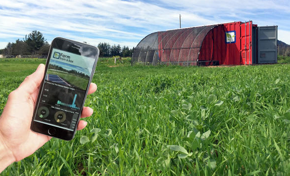 """Farm from a Box"" to solve food security problem"