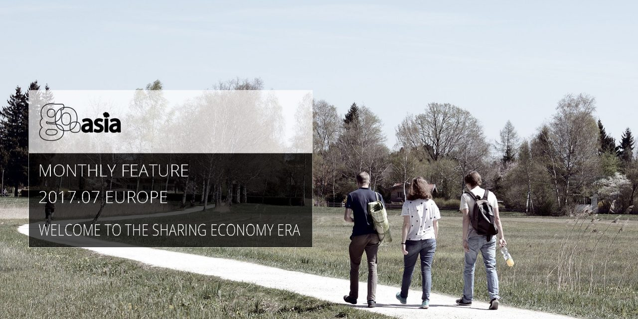 Welcome to the Sharing Economy Era